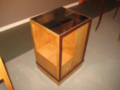 French Art Deco Sided Table or Nightstand - 621213