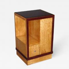 French Art Deco Sided Table or Nightstand - 621588