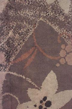 French Art Deco Wool Rug Carpet - 514828