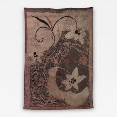 French Art Deco Wool Rug Carpet - 518536