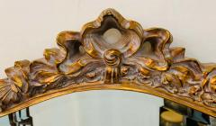 French Baroque Style Gilt Wood Carved Mirror - 1659573