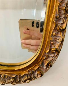 French Baroque Style Gilt Wood Carved Mirror - 1659591