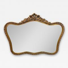 French Baroque Style Gilt Wood Carved Mirror - 1662222