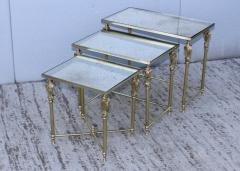 French Bronze And Brass Nesting Tables - 767356