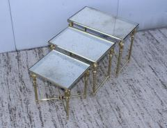 French Bronze And Brass Nesting Tables - 767359
