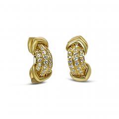 French Diamond Earrings - 2088175
