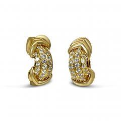 French Diamond Earrings - 2088176