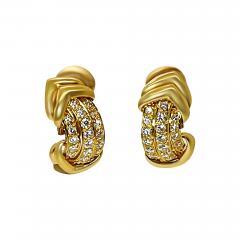 French Diamond Earrings - 2089382