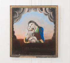French Early 20th Century Drawing of The Madonna and Child - 1042877