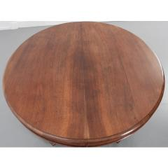 French Early 20th Century Extending Mahogany Dining Table - 1931399