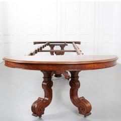 French Early 20th Century Extending Mahogany Dining Table - 1931407