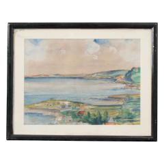 French Early 20th Century Framed Watercolor - 1409708