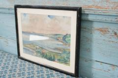 French Early 20th Century Framed Watercolor - 1409773