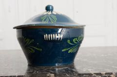 French Early 20th Century Glazed Fa ence Lidded Tureen - 1817331