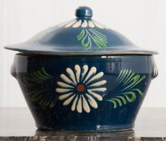 French Early 20th Century Glazed Fa ence Lidded Tureen - 1817334