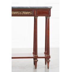 French Early 20th Century Mahogany Empire Style Console - 1931424
