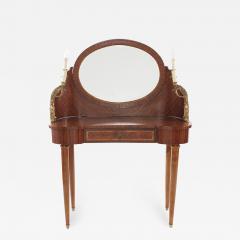 French Empire Bronze Mahogany Vanity - 2109942