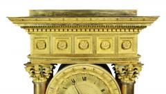 French Empire Bronze Mantle Clock - 1568114