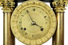 French Empire Bronze Mantle Clock - 1568115