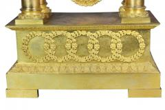 French Empire Bronze Mantle Clock - 1568116