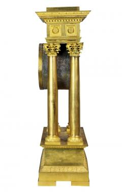 French Empire Bronze Mantle Clock - 1568128