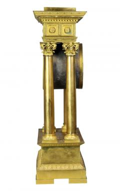 French Empire Bronze Mantle Clock - 1568130