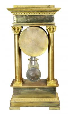 French Empire Bronze Mantle Clock - 1568131