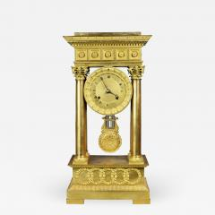 French Empire Bronze Mantle Clock - 1568972