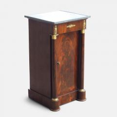 French Empire Cuban Mahogany Somno Side Table circa 1805 - 1137313