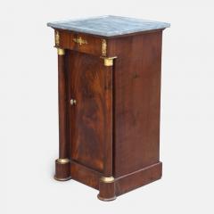 French Empire Cuban Mahogany Somno Side Table circa 1805 - 1137319