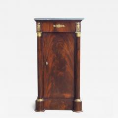 French Empire Cuban Mahogany Somno Side Table circa 1805 - 1137847