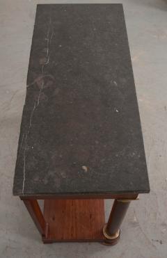 French Empire Mahogany Console Table - 1045883