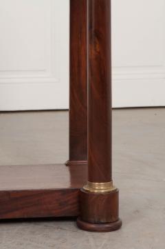 French Empire Mahogany Console Table - 1045888