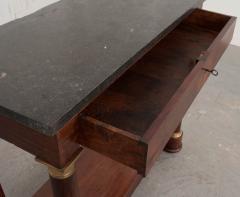 French Empire Mahogany Console Table - 1045889