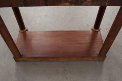 French Empire Mahogany Console Table - 1045890