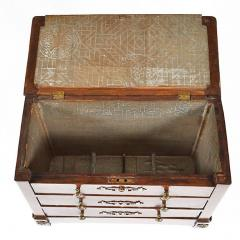 French Empire Miniature Chest Commode Document Box Salesman Sample - 163808