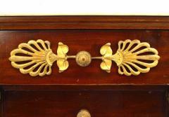 French Empire Style Mahogany Small Commode - 741311