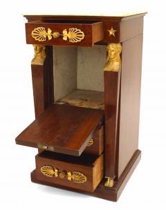 French Empire Style Mahogany Small Commode - 741312