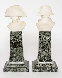 French Empire Style Marble and Alabaster Models of Napoleon and Frederick - 348745