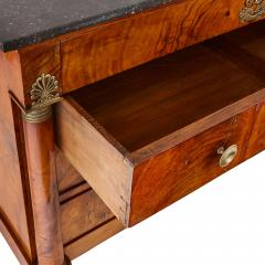 French Empire chest of drawers with gilt bronze mounts - 1626963