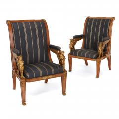 French Empire style three piece salon suite - 1433207