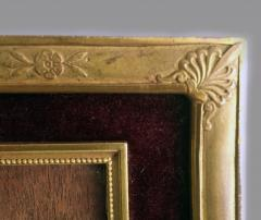 French Gilded Bronze Double Picture Frame - 2057268