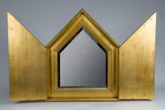 French Gilt Mirror with Doors - 1650102