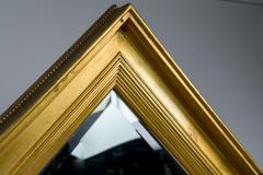 French Gilt Mirror with Doors - 1650115