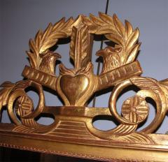 French Giltwood Louis XVI Style Mirror - 838483