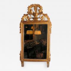 French Giltwood Louis XVI Style Mirror - 846634