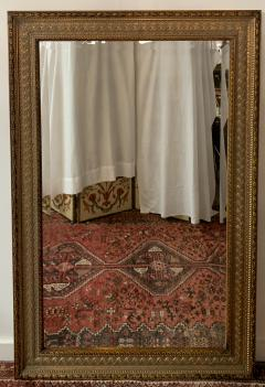 French Handcarved Giltwood Framed Mirror with Bevelled Glass - 1592680