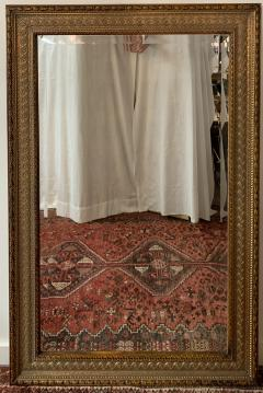 French Handcarved Giltwood Framed Mirror with Bevelled Glass - 1592682