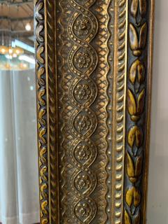 French Handcarved Giltwood Framed Mirror with Bevelled Glass - 1592688