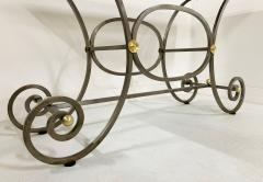 French Iron and Marble Top Console - 1148829